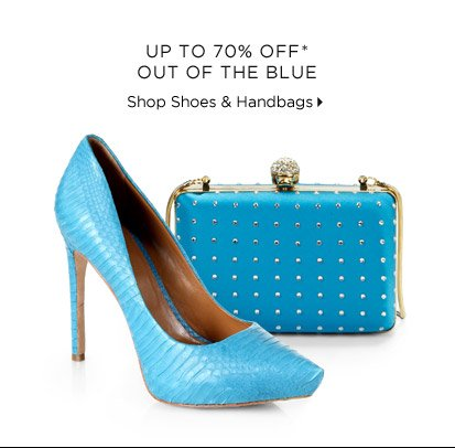 Up To 70% Off* Out Of The Blue
