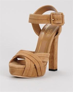 Gucci Scamosciato Heel