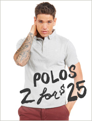 Polos 2 for $25!