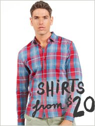 Shirts from $20!