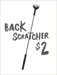 Back scratcher $2!