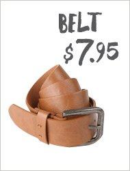 Belt $7.95!