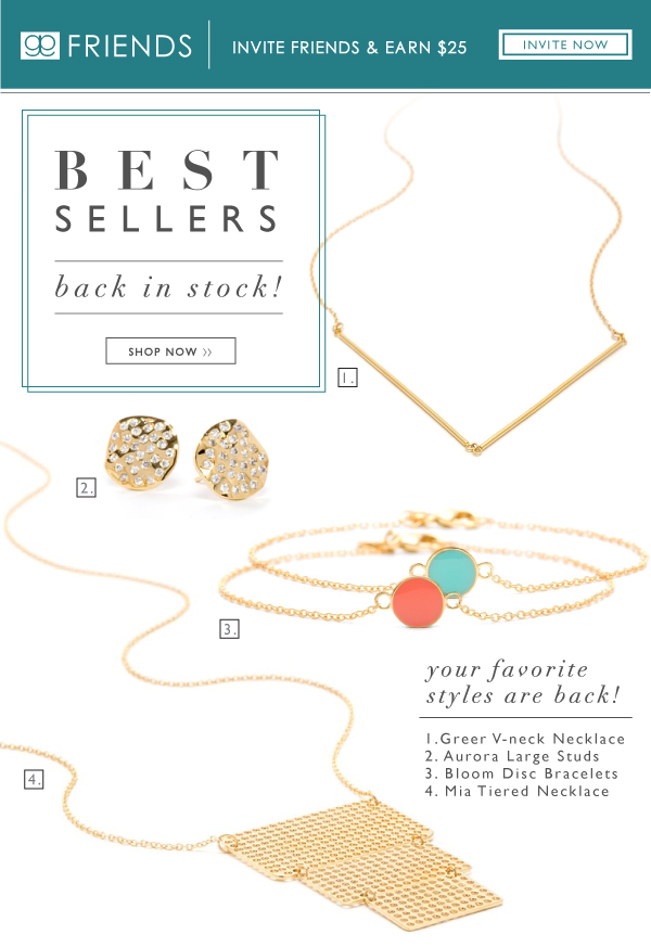 Best Sellers Back In Stock!