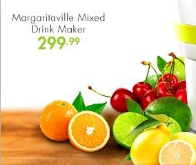 Margaritaville Mixed Drink Maker 299.99