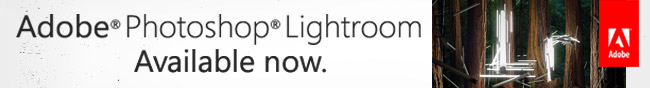Adobe Photoshop Lightroom Available now.