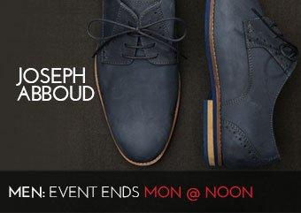 JOSEPH ABBOUD - MEN'S SHOES