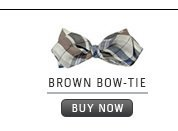 Brown Bow-Tie