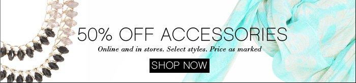 Shop 50% OFF Accessories