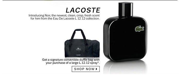 Lacoste. Shop Now.