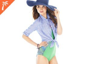Suit Up: One-Piece & Cover-Ups