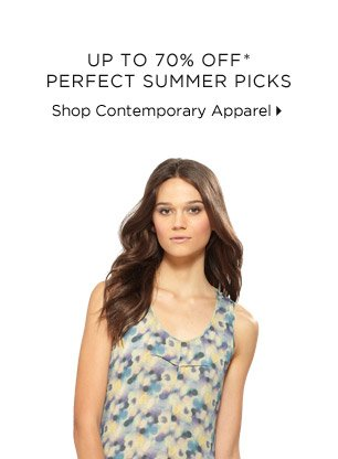Up To 70% Off* Perfect Summer Picks