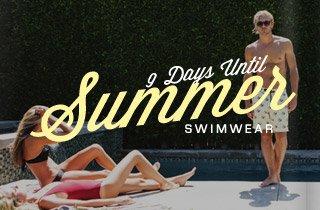 9 Days Until Summer: Swimwear