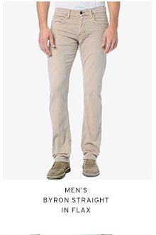 Men's Bryon Straight in Flax