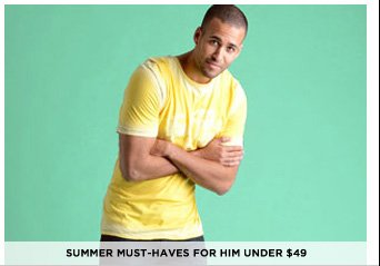 Summer Must-Haves For Him Under $49