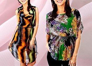Summer Staples: Chiffon Tops & Dresses