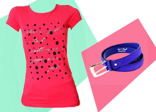 Italian Made T-Shirts & Accessories for Her