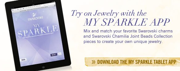 Try on jewelry with the My Sparkle app