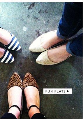 Shop Fun Flats