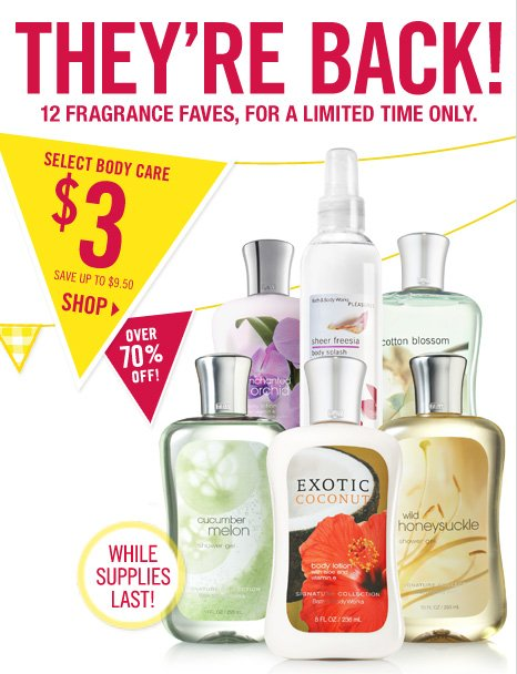 Signature Body Care – $3