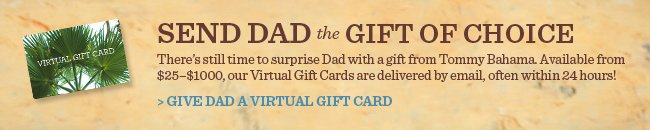Give Dad A Virtual Gift Card