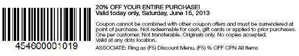 20% OFF COUPON FOR YOU + FREE JEWELRY ITEM! Some limitations may apply. SHOP NOW!