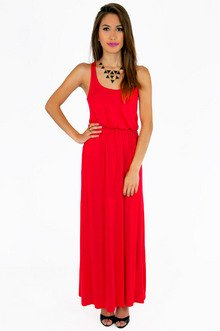 DRIVING RACERBACK MAXI DRESS 30