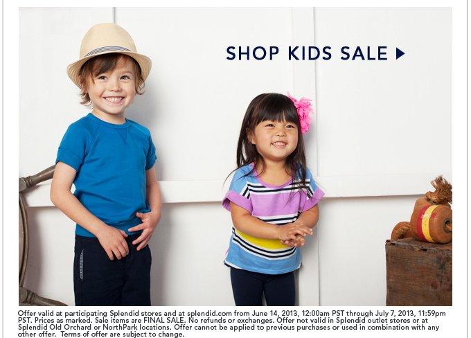 Shop Kid's Sale