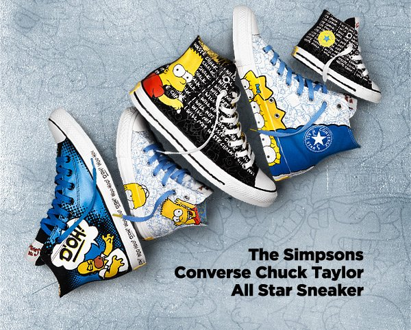 THE SIMPSONS CONVERSE CHUCK TAYLOR ALL STAR SNEAKER