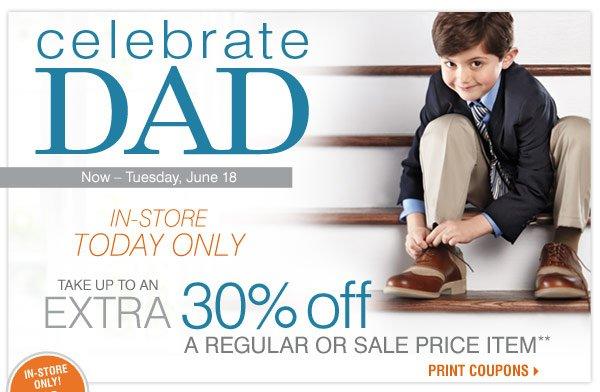 celebrate DAD Now