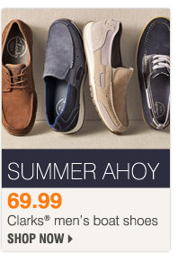 69.99 Clarks® men's boat shoes Shop now