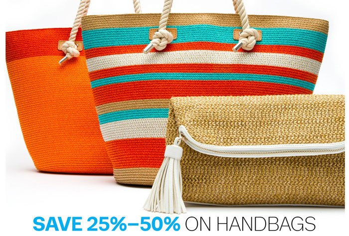 Save 25%-50% on Handbags