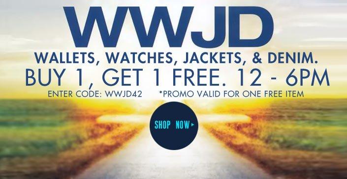 Watches, Wallets, Jackets, & Denim