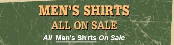 Shop All Mens Shirts On Sale