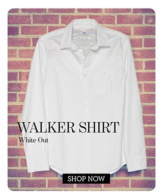 Walker Shirt - White Out