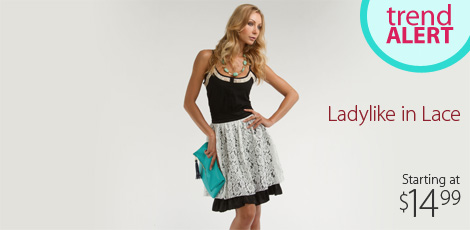 Ladylike in Lace