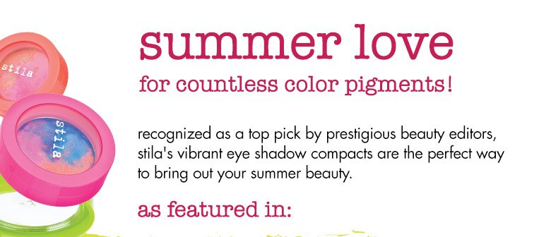 summer love for countless color pigments