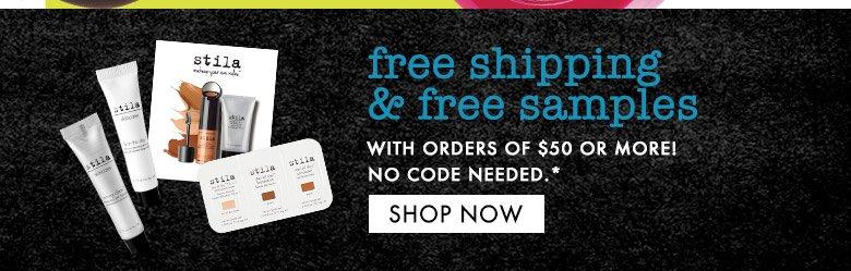 freeshipping & freesamples