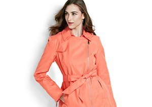 Up to 80% Off: Spring Outerwear