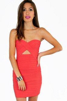 DIANA STRAPLESS BODYCON DRESS 39