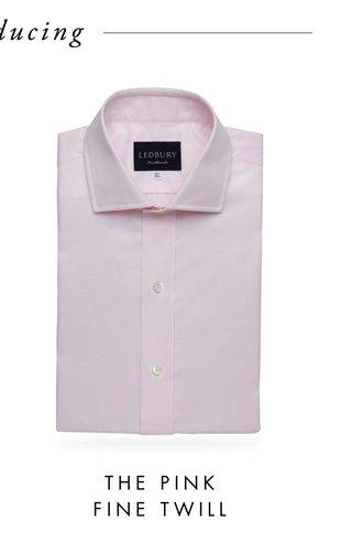 The Pink Fine Twill