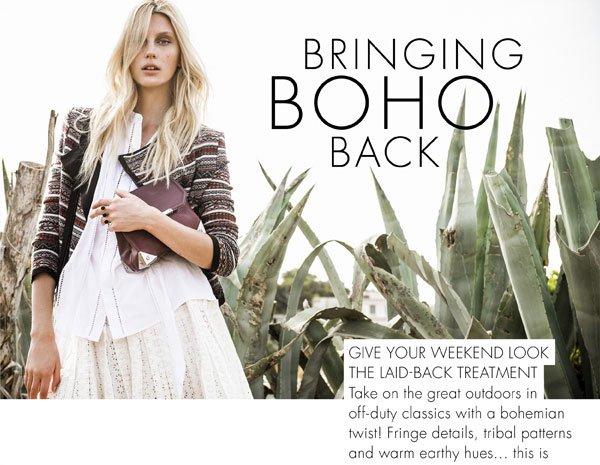 Bringing Boho Back