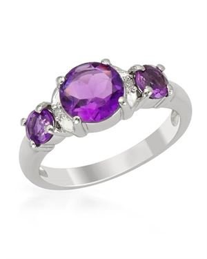 Ladies Ring Designed In 925 Sterling Silver