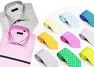 Italian Men's Shirts & Accessories by Kiton & Redavati