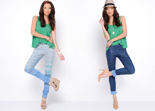Bleulab Reversible Denim Collection for Her
