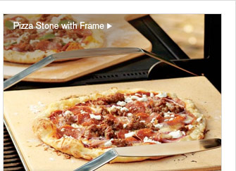 Pizza Stone with Frame