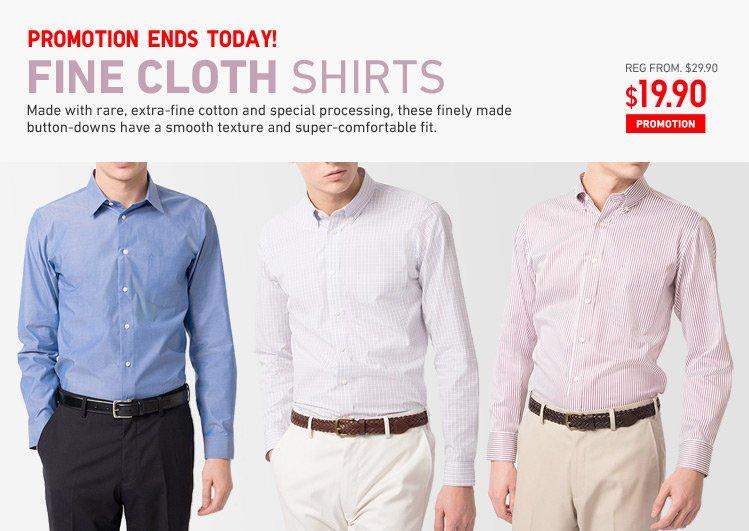FINE CLOTH SHIRTS