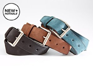 New + Notable: Bolliver Belts