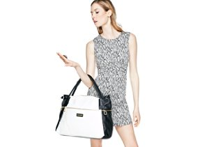 In Black & White: Shoes & Handbags