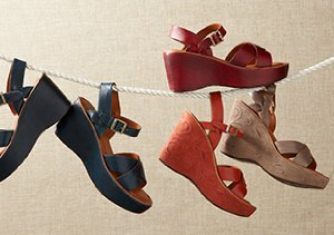 Walkable Styles: Wedges & Beyond