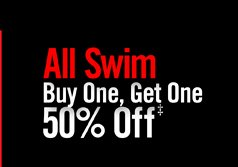 ALLS WIM BUY ONE, GET ONE 50% OFF‡